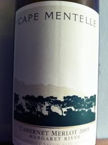 Cape Mentelle Margaret River Cabernet Merlot, 2005