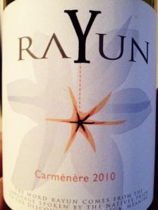 Rayun Carmenere