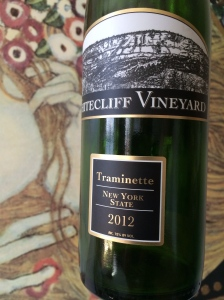 Whitecliff Vineyards Traminette